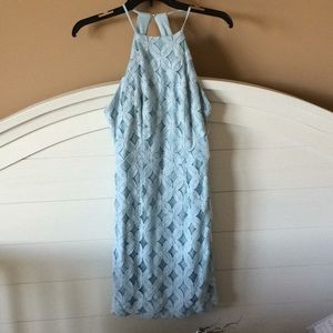 Light Blue Pencil Dress